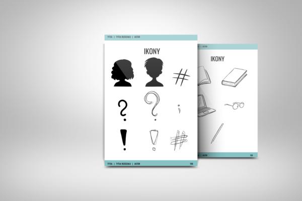 Ikony - Szablon do edycja e-booka worqAssist
