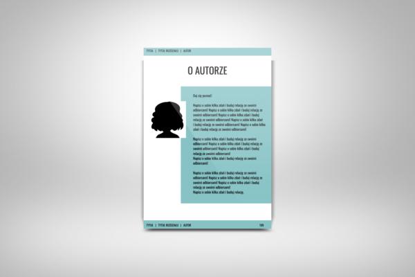 O Autorze - Szablon do edycja e-booka worqAssist